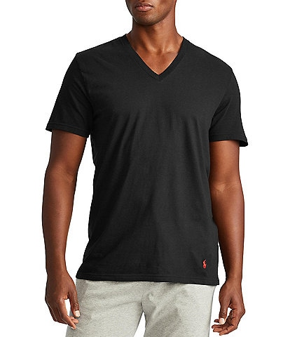 Polo Ralph Lauren Big & Tall Classic Fit V-Neck T-Shirts 3-Pack