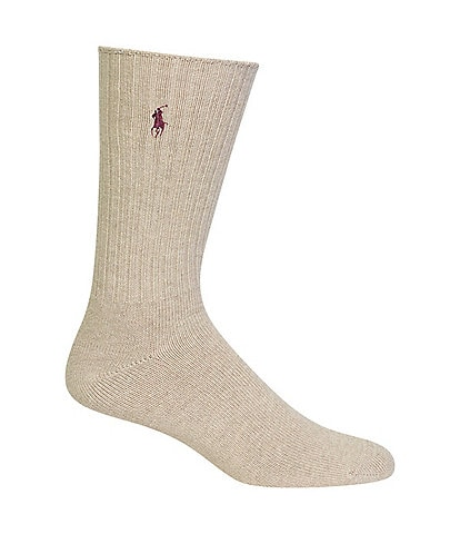 Polo Ralph Lauren Big & Tall Classic Solid Crew Socks