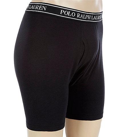 Polo Ralph Lauren Big & Tall Classic Stretch Boxer Briefs 3-Pack