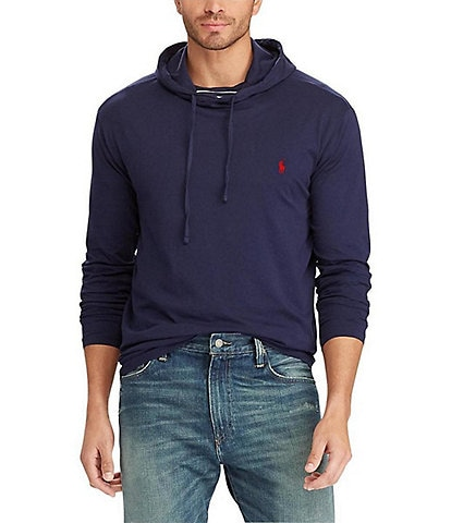 Polo Ralph Lauren Big & Tall Cotton Jersey Long-Sleeve Hoodie Tee