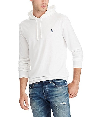 Polo Ralph Lauren Big & Tall Cotton Jersey Long-Sleeve Hoodie Tee