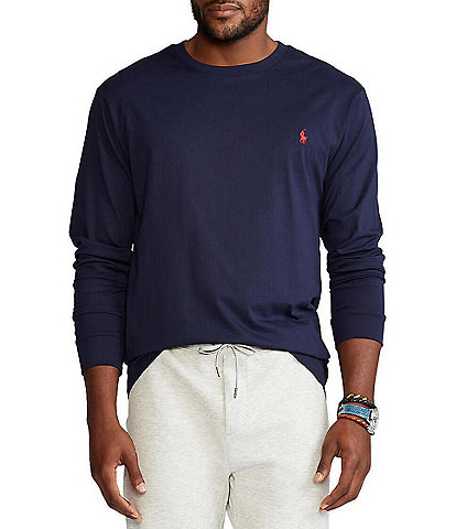 Polo Ralph Lauren Big & Tall Long-Sleeve Tee