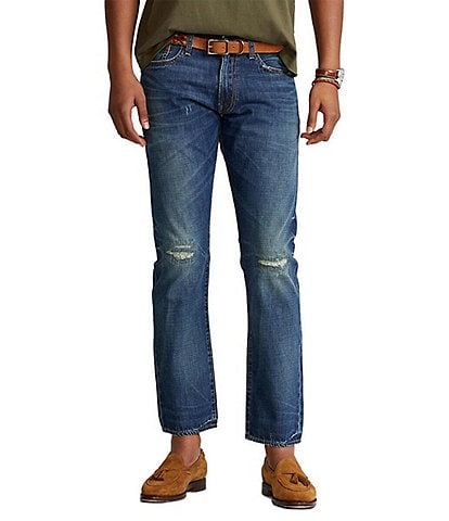 Polo Ralph Lauren Big & Tall Moreland Prospect Straight-Fit Jeans