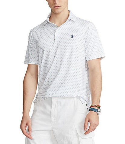 Polo Ralph Lauren Big & Tall Performance Stretch Short-Sleeve Recycled Materials Polo Shirt