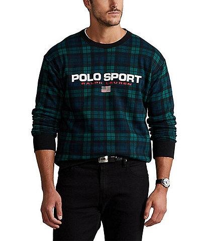 Polo Ralph Lauren Big & Tall Polo Sport Black Watch Sweatshirt