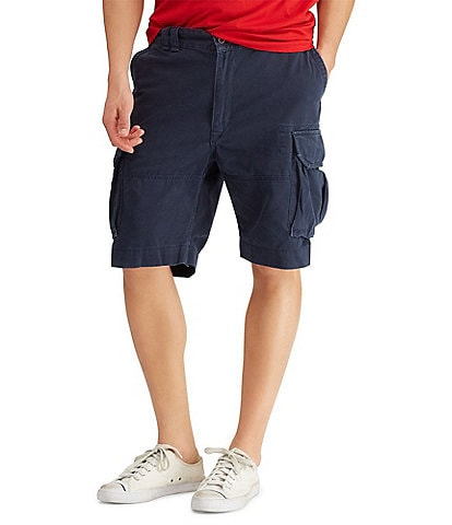 Polo Ralph Lauren Big & Tall Relaxed-Fit Classic Cargo 10#double; Inseam Shorts