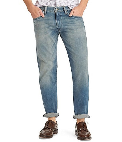 Polo Ralph Lauren Big & Tall Relaxed-Straight Stretch Denim Jeans