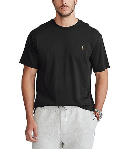 Polo Ralph Lauren Big & Tall Solid Soft-Touch Short-Sleeve Tee
