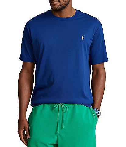 Polo Ralph Lauren Big & Tall Solid Soft-Touch Short-Sleeve Tee