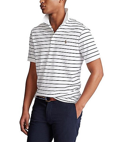Polo Ralph Lauren Big & Tall Stripe Soft Touch Short-Sleeve Polo Shirt