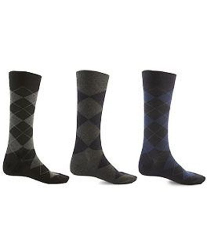 Polo Ralph Lauren Big & Tall Super-Soft Dress Socks 3-Pack