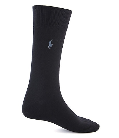 Polo Ralph Lauren Big & Tall Super Soft Dress Socks 3-Pack