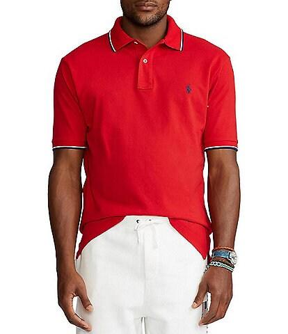 Polo Ralph Lauren Big & Tall Tipped Mesh Short-Sleeve Polo Shirt