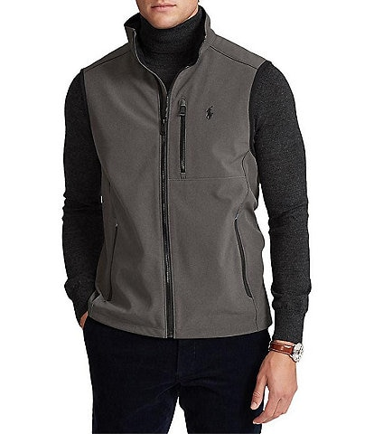 Polo Ralph Lauren Big & Tall Water-Repellent Softshell Vest