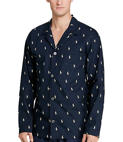 Polo Ralph Lauren Big & Tall Woven Pajama Top