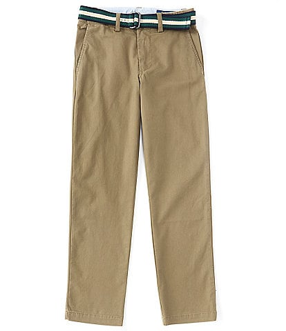 Polo Ralph Lauren Big Boys 8-20 Belted Slim-Fit Stretch Twill Chino Pants