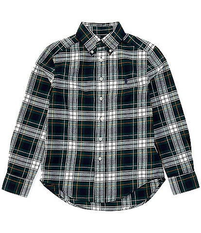 Polo Ralph Lauren Big Boys 8-20 Long-Sleeve Holiday Plaid Performance Flannel Shirt
