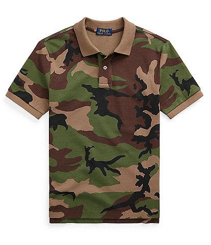 Polo Ralph Lauren Big Boys 8-20 Short-Sleeve Camo Polo Shirt