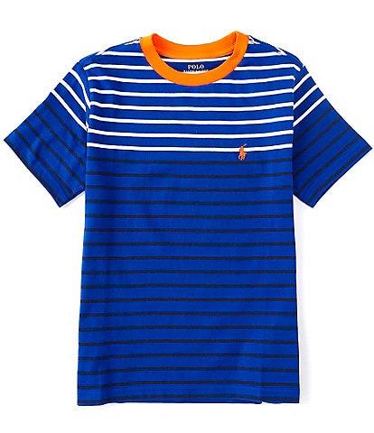 Polo Ralph Lauren Big Boys 8-20 Short-Sleeve Sporty Striped Tee