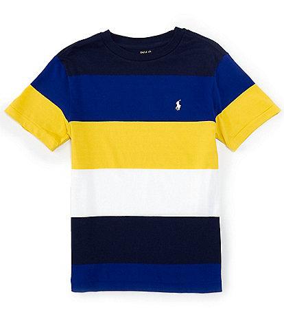 Polo Ralph Lauren Big Boys 8-20 Short-Sleeve Wide Stripe Tee