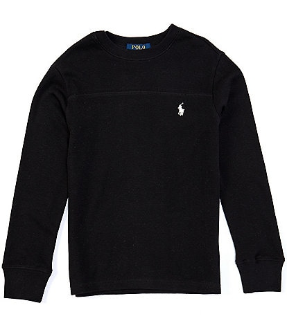 Polo Ralph Lauren Big Boys 8-20 Waffle-Knit Long Sleeve Tee