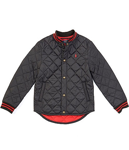 Polo Ralph Lauren Big Boys 8-20 Water-Resistant Quilted Baseball Jacket