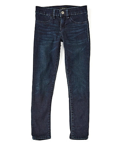 Polo Ralph Lauren Big Girls 7-16 Aubrie Knit Denim Leggings