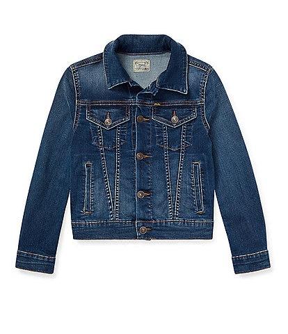 Polo Ralph Lauren Big Girls 7-16 Denim Trucker Jacket
