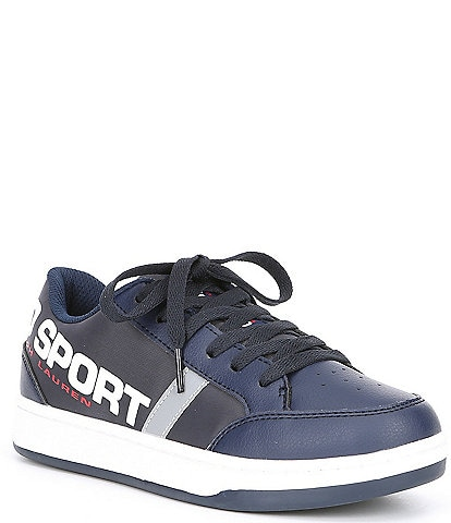 Polo Ralph Lauren Boys' Belden Polo Sport Sneaker Youth
