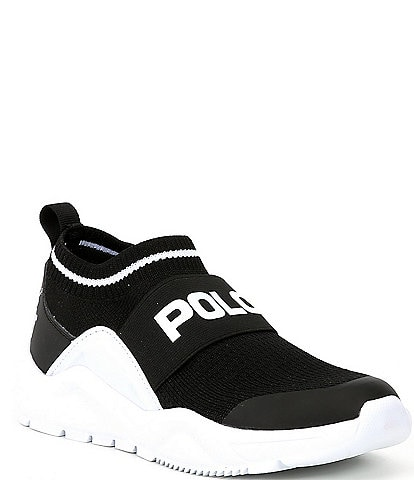 Polo Ralph Lauren Boys' Channing Woven Low Sneakers Youth