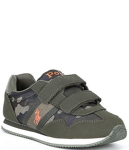 Polo Ralph Lauren Boys' Kelland EZ Camo Print Sneakers (Youth)