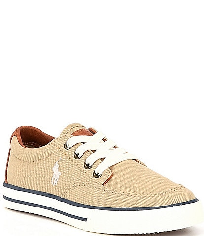 Polo Ralph Lauren Boys' Layton Canvas Sneakers Youth