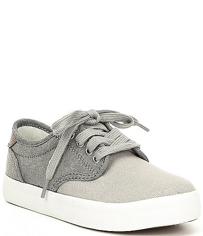 Polo Ralph Lauren Boys' Luwes Chambray and Canvas Sneakers Toddler