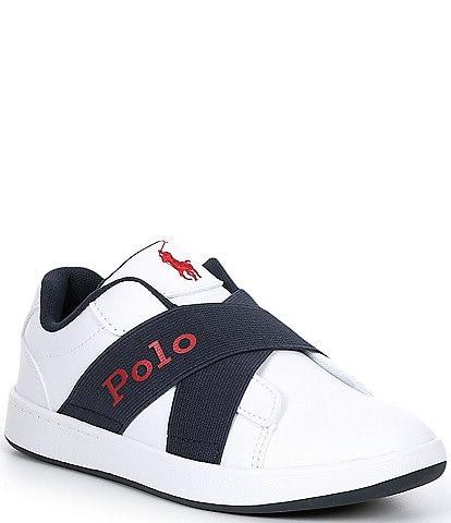 Polo Ralph Lauren Boys' Oakview II Slip-On Sneakers (Youth)
