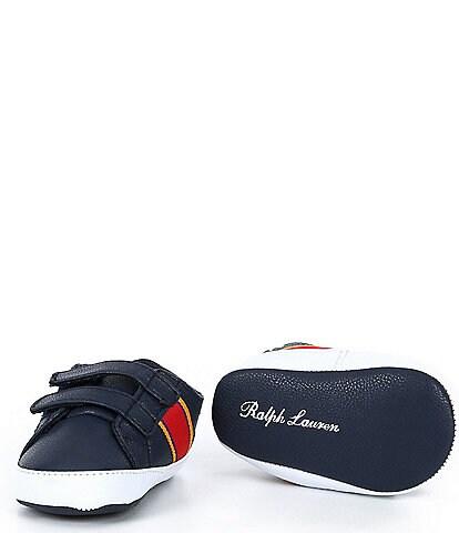Polo Ralph Lauren Boys' Quigley EZ Sneaker Crib Shoes (Infant)