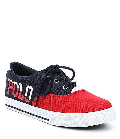 Polo Ralph Lauren Boys' Vaughn II Lace Up Sneaker