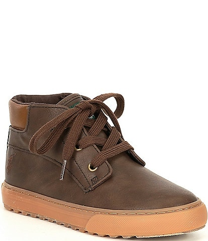 Polo Ralph Lauren Boys' Wyse Sneaker Boots Toddler