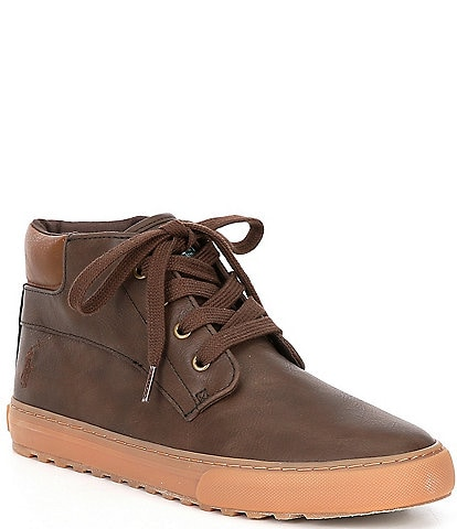 Polo Ralph Lauren Boys' Wyse Sneaker Boots (Youth)