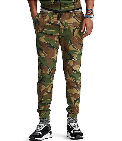 Polo Ralph Lauren Camo Double-Knit Jogger Pants