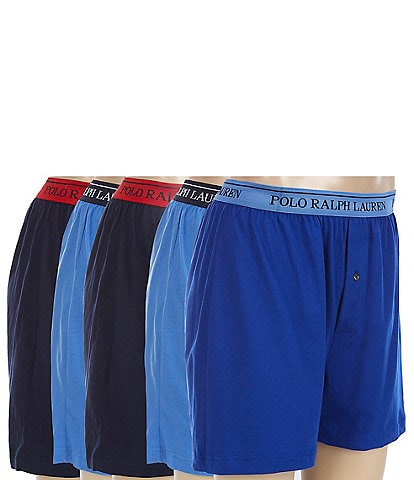 Polo Ralph Lauren Classic Cotton Assorted Boxers 5-Pack