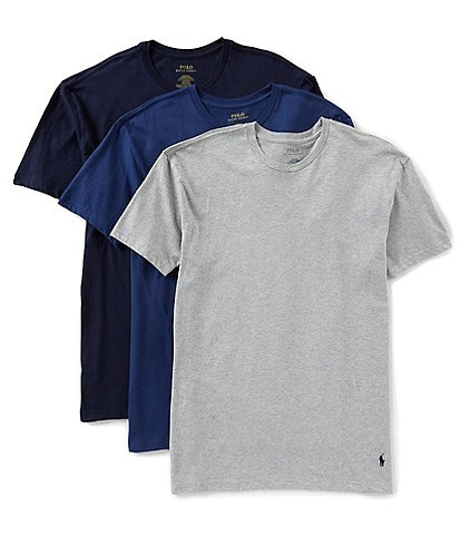 Polo Ralph Lauren Classic Fit Assorted Crewneck Tees 3-Pack