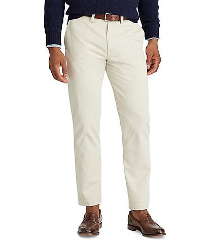 0c007df4d Polo Ralph Lauren Classic-Fit Flat-Front Bedford Chino Pants
