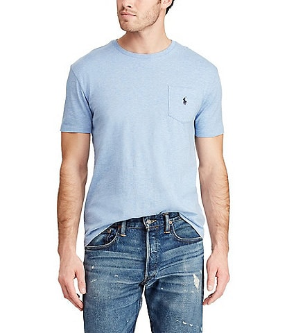 Polo Ralph Lauren Classic-Fit Jersey Pocket Crewneck Tee