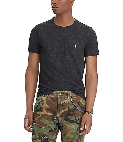 Polo Ralph Lauren Classic-Fit Jersey Short-Sleeve Pocket Tee