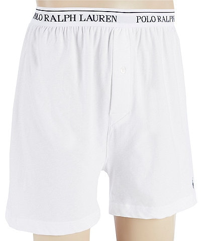 Polo Ralph Lauren Classic Fit Knit Boxers 3-Pack