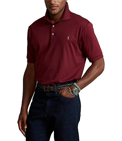 Polo Ralph Lauren Classic-Fit Multicolored Pony Soft Cotton Short-Sleeve Polo Shirt