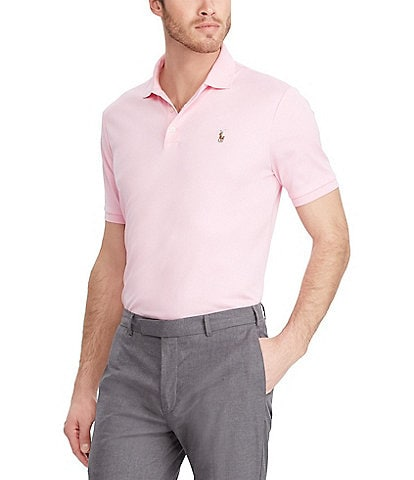 Polo Ralph Lauren Classic-Fit Cotton Soft Short-Sleeve Solid Polo Shirt