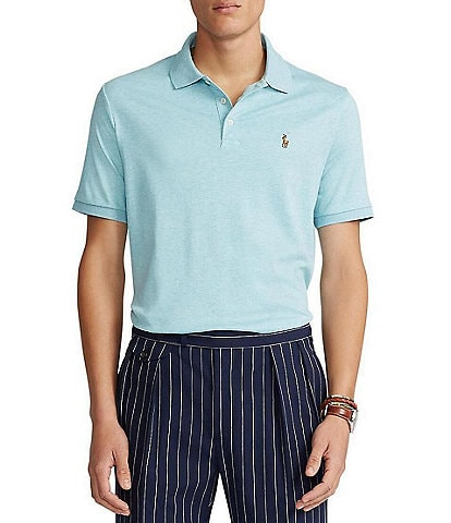 a600adfe452 Polo Ralph Lauren Classic-Fit Cotton Soft Short-Sleeve Solid Polo Shirt