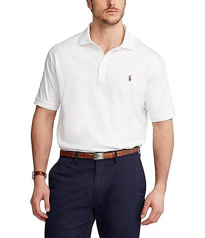 266b3f2d7b Polo Ralph Lauren Classic-Fit Cotton Soft Short-Sleeve Solid Polo Shirt