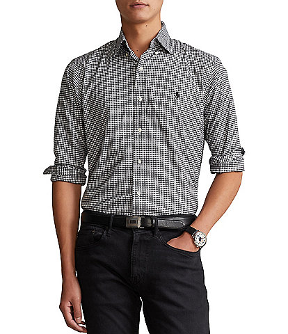 Polo Ralph Lauren Classic-Fit Pinpoint Stretch Oxford Long-Sleeve Woven Shirt